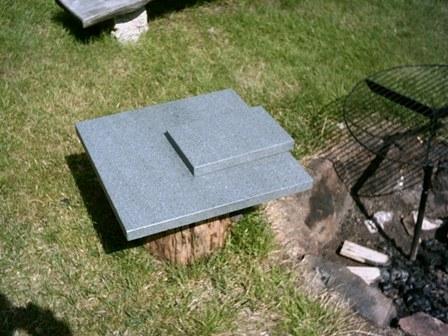 Grilovací kameny pro venkovní ohniště